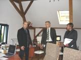 Auch die Kombination eines alten Gebäudes mit einer modernen Geschäftsidee fand Gefallen bei Herrn Tillich
