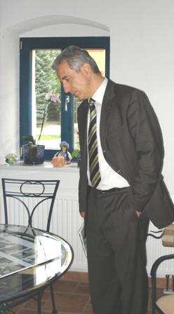 Herr Tillich als detailinteressierter Politiker...