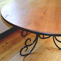Unsere Holzplatten können auch mit Glaselementen kombiniert werden - Fragen Sie uns!